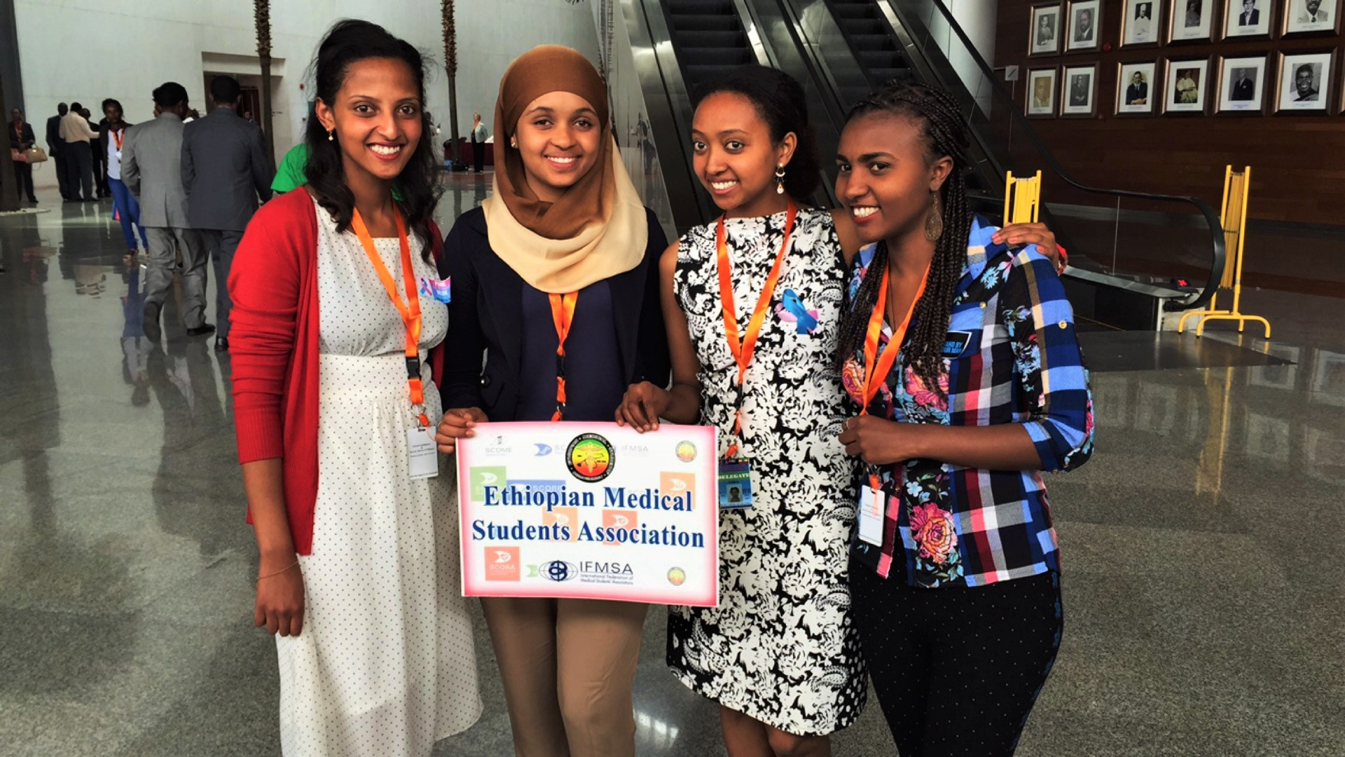 Ethiopia African Union SCCA Conference Addis Ababa Medical Students