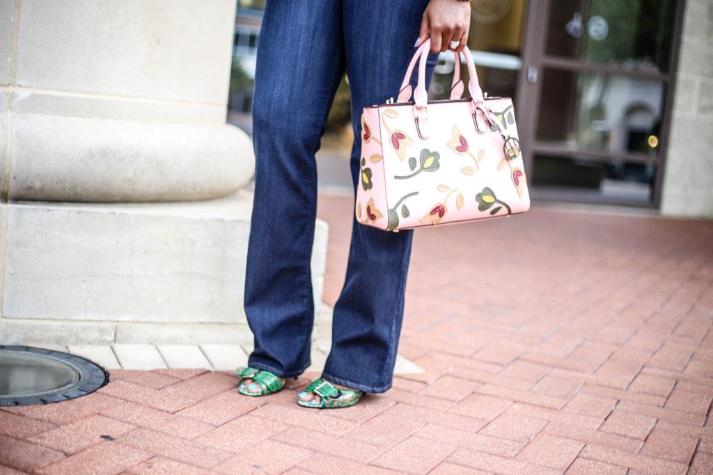 7b463212cb1c ChigisWorld Sisi Crop Top Jbrand Jeans Henri Bendel Handbag Guess Shoes