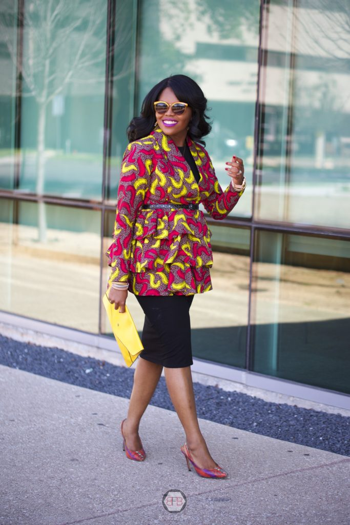 Passion to Purpose - 6 Steps to Finding your Niche + Developing your Brand Chigi's World Business Blogging Branding Tips How to start and grow your blog and business Women CEO's Girl Bosses Business Women Branding and Marketing for Bloggers Influencers Content Creators Writers Asos Little Black Dress 3reec's African Print Ankara Peplum Coat Jacket Shein Envelope Clutch Handbag Animal Print Shoedazzle Shoes Nastygal Cat Eye Sunglasses OOTD Fall Fashion