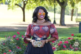 The Ankara Dress and the Tutu Skirt