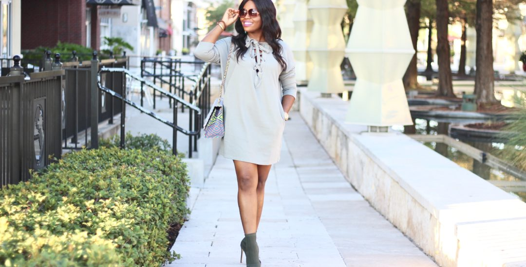 How to Rock Green this Fall – Monochrome Style