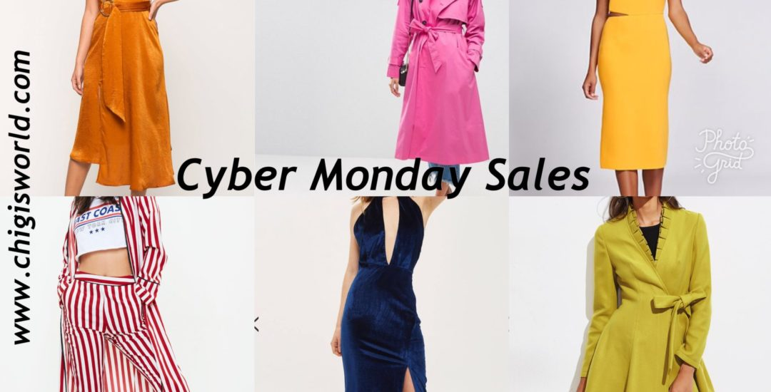 THE BIGGEST CYBER MONDAY SALES FROM MY FAVORITE STORES