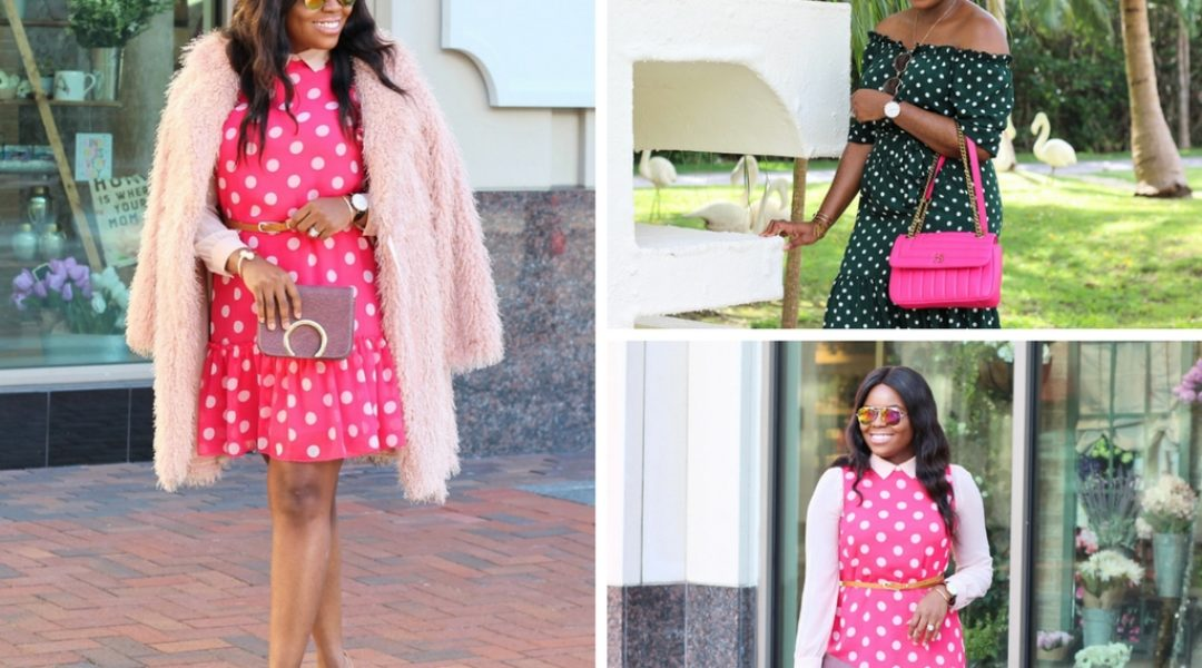 Where to Shop and How to Style your Polka Dot Dress
