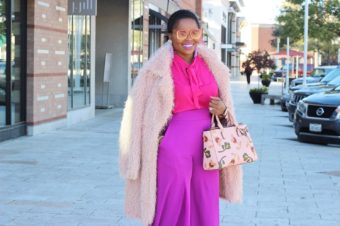 Style Guide – How to style a Pink Top and Pants