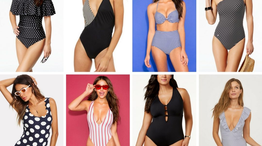 Beach Wear – Swimsuits, Sunglasses, Sandals & Straw Bags